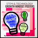 Growth Mindset Quotes for STEM & Technology