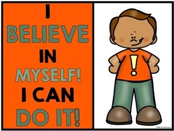 Growth Mindset Posters for Students - Positive Thinking
