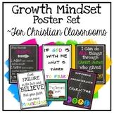 Christian Classroom Decor: Bible Verse Posters