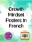 Growth Mindset Posters in French