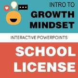 Growth Mindset PowerPoint SCHOOL LICENSE