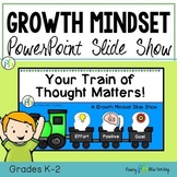 Growth Mindset PowerPoint Slideshow (Grade K-2)