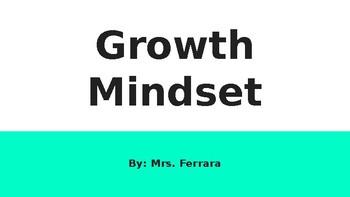 Growth Mindset Powerpoint