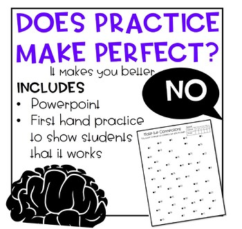 Growth Mindset Practice Makes Better