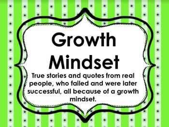Growth Mindset Presentation