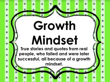 Growth Mindset Presentation