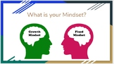 Growth Mindset Presentation &  Worksheets - Perfect for Be