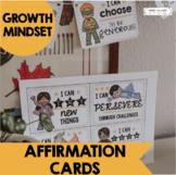 Growth Mindset Printable Affirmation Cards