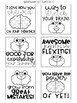 Growth Mindset Printable Post It's