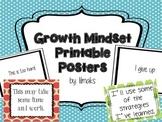 Growth Mindset Printable Posters