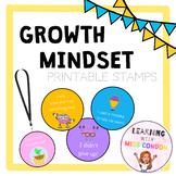 Growth Mindset Printable Stamps