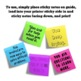 Growth Mindset Printable Sticky Note Templates