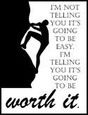 Growth Mindset Inspirational Sayings Printables