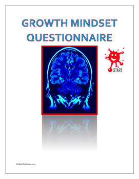 Education Resource - Growth Mindset Questionnaire