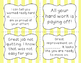 Growth Mindset Questions and Feedback