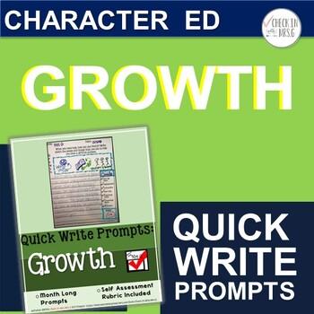 Growth Quick Write