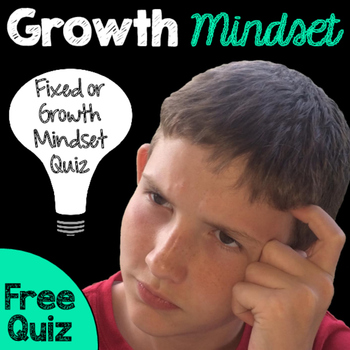 Growth Mindset Quiz - Freebie
