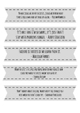 Growth Mindset Quote Bookmarks