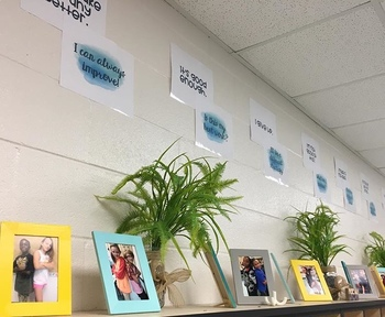 Growth Mindset Quote Displays