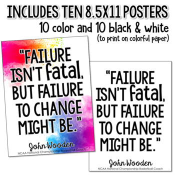 Growth Mindset Quote Posters