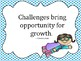 Growth Mindset Quote Posters Superhero