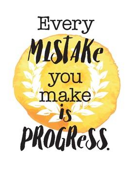 Growth Mindset & Inspirational Quotes