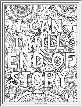 Growth Mindset Coloring Pages - 20 Fun, Creative Designs!
