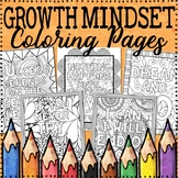 Growth Mindset Coloring Pages | Growth Mindset Posters