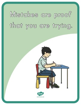Growth Mindset Quotes Display Posters