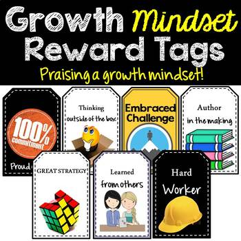 Growth Mindset  - Reward Tags
