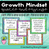 Growth Mindset Quotes and Sayings