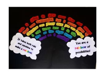 Growth Mindset Rainbow