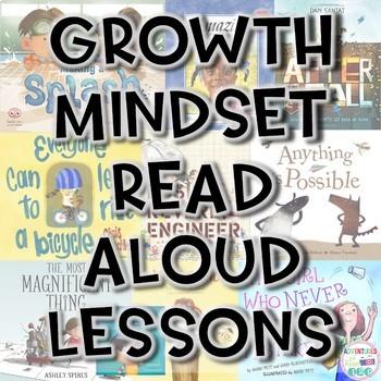 Growth Mindset Read Aloud Lesson Plans