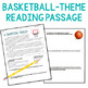 Growth Mindset Reading Comprehension : Basketball Theme