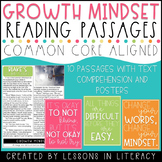 Growth Mindset Reading Passages