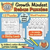 Growth Mindset Rebus Puzzles