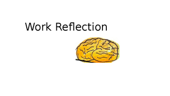 Growth Mindset-Reflect on your work
