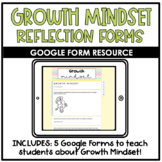 Growth Mindset Reflection Forms | Distance Learning