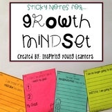 Growth Mindset: Reflection Sticky Notes