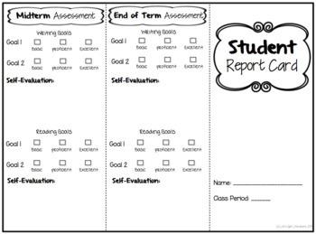 Growth Mindset Self-Evaluation for ELA Students