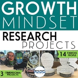 Growth Mindset Research Projects - 3D Projects and Activities for Growth Mindset