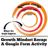 Growth Mindset Review: An Editable Google Form Activity