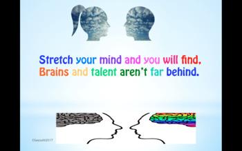 Growth Mindset Rhymes - Printable Display Posters
