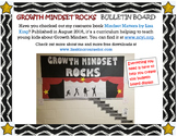 Growth Mindset Rocks Bulletin Board