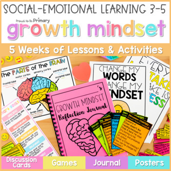 Growth Mindset Activities & SMART Goal Setting - Social Emotional Learning