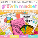 Growth Mindset Activities & SMART Goal Setting - Social Em
