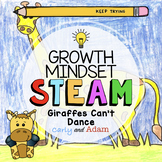 Giraffe's Can't Dance Directed Drawing Growth Mindset STEAM Activity
