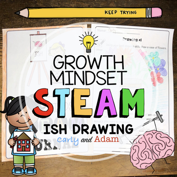 """""""Ish"""" Directed Drawing Growth Mindset STEAM Activity"""