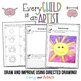 Sky Color Directed Drawing Growth Mindset STEAM Activity