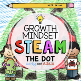 """""""The Dot"""" Directed Drawing Growth Mindset STEAM Activity"""